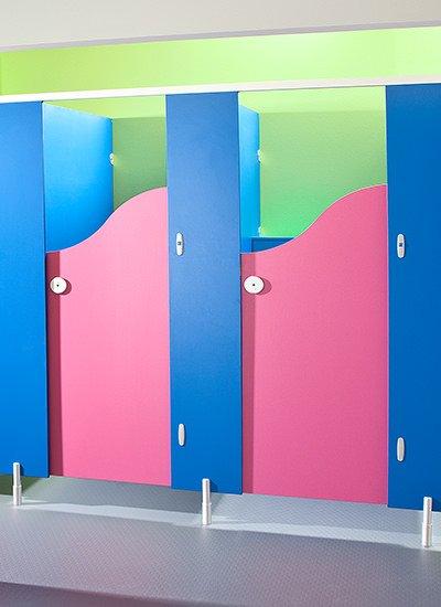 Brecon Junior School Toilet Cubicles