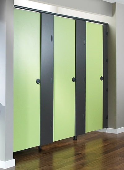 Increased Height Toilet Cubicles