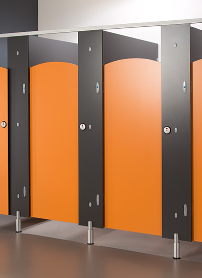 Brecon CGl toilet cubicles