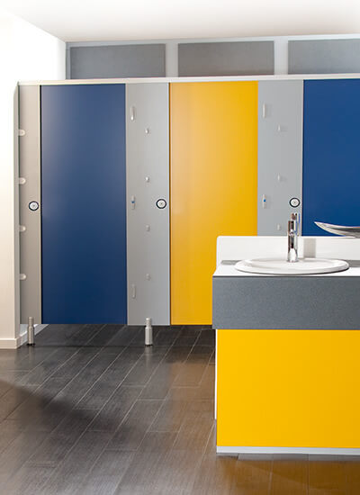 Cambrian CDF toilet cubicles