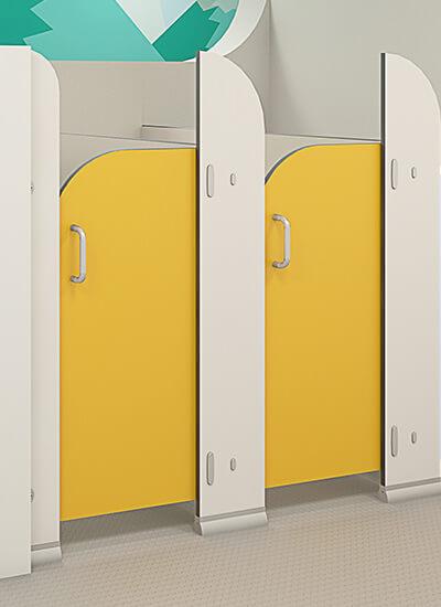 Sydney CGL toilet cubciles